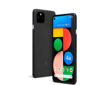 Google Pixel 4a with 5G Android Smartphone Phone with Night Sight and Ultrawide Lens - Just Black