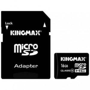 Kingmax MicroSDHC 16GB Memory Card Class-10