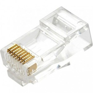 Microworld RJ45 CAT5 Connector x100