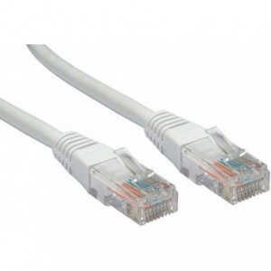 Microworld 2m CAT6 Network Flylead - Light Grey