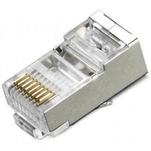 Network CAT 6 Shielded Connectors 50 Pieces