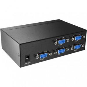 MT-Viki 1080P 4 port VGA Multiviewer