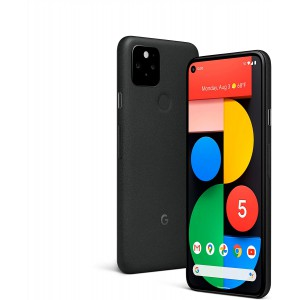 Google Pixel 5  5G Android Smartphone Phone - Water Resistant with Night Sight and Ultrawide Lens - Sorta Sage