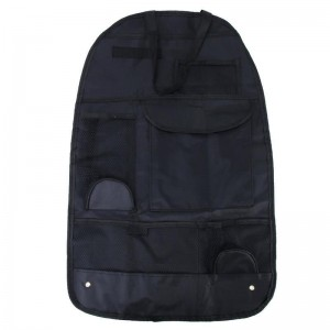 Tuff-Luv Children / Adult Car Seat Organizer / Protector Hanging Toy Storage - Black