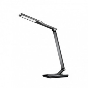 Taotronics LED 1200 Lumen Desk Lamp with USB 5V/2A Charging Port 60 min Timer Night Light Touch Dimmer - Silver