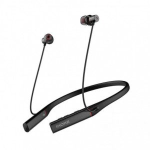 1MORE HiFi EHD9001BA Dual Driver Active Noise Cancellation BT|20hr Battery Life|IPX5 Resistant In-Ear Headphones - Black