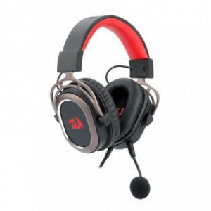 Redragon Helios USB|Virtual 7.1|180 cm Cable|Detachable Omnidirectional Boom Mic|50mm Driver Gaming Headset - Black