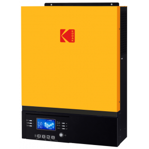 KODAK Solar Off-Grid Inverter 7200W (7.2kw) - 48V - Dual MPPT Solar Controller - 8000W/450V