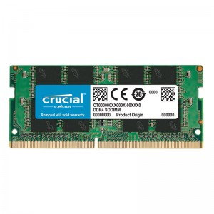 Crucial 16GB DDR4 2666MHz SO-DIMM Memory – Green