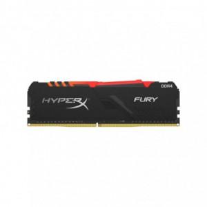 Kingston HyperX Fury 8GB DDR4 3200MHz CL16 RGB Gaming Memory Module - Black