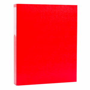 Ringbinder A4 PVC Casemade Colour:Red