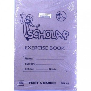 Palm A5 Exercise Small Book 48 Page
