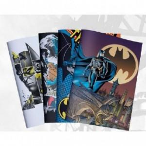 Batman A4 Precut Book Covers ( Pack of 5 ) 4 Designs