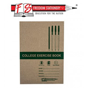Freedom A4 Feint and Margin College Exercise Book 32page-Single