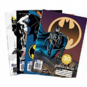 Batman Display Book File 30 Pockets - 4 Designs