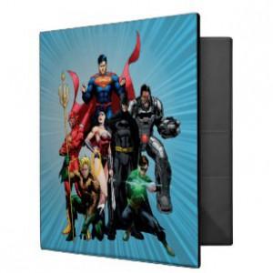 Justice League A4 Ringbinder - 2 Designs
