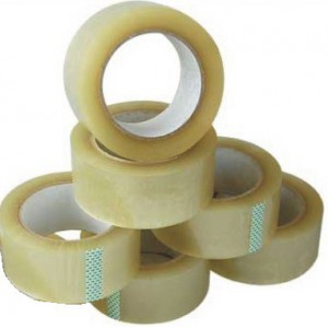 Brainware Office Packaging Clear Tape 43mm x 100m-Shrink Wrap Sold as a Pack of 6