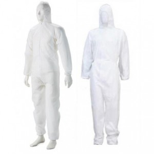 Casey Non Woven Disposable Full Body Coverall Suit -Size Small