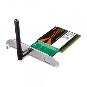 D-Link Wireless N-150 Mbps Desktop Wi-Fi PCI/PCIe Network Adapter (DWA-525)
