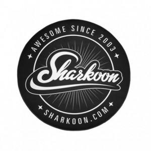 Sharkoon 120CM Round Mat - Black/White