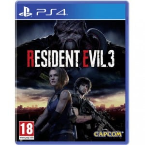 PlayStation 4 Game Resdient Evil 3 Lenticular Edition