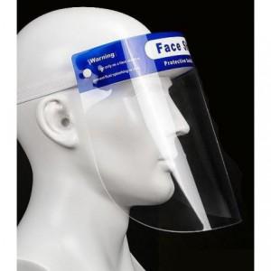 Casey Premium Splash Guard Faceshield With Narrow Foam Band Blue