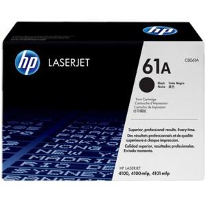 HP Original Replacement for HP-61A C8061A Black LaserJet Toner Cartridge