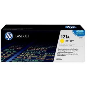 HP Original Replacement for HP 121A C9702A Yellow LaserJet Toner Cartridge