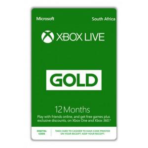 Microsoft Xbox Live Gold 12 Months, Digital Code