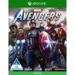 Xbox One Game Marvel Avengers Standard Edition