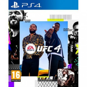 PlayStation 4 Game EA Sports UFC 4
