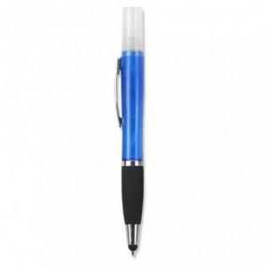 Geeko 3 in 1 Sanitizer Spray Stylus and Blue Ink Pen