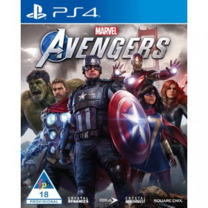 PlayStation 4 Game Marvel Avengers Standard Edition