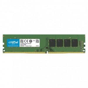 Crucial 32GB DDR4 3200MHz UDIMM Dual Ranked Desktop Memory – Green