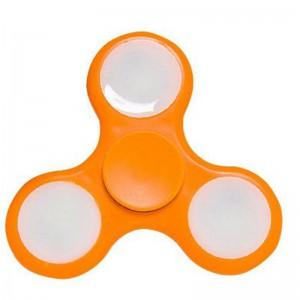Tuff-Luv Glowing Fidget Spinner - Orange (5055261838799)