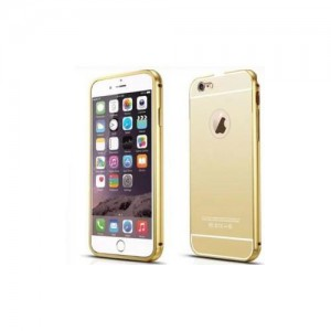Homemark Mirror iPhone 6 and iPhone 6 Plus TPU Soft Case - Gold