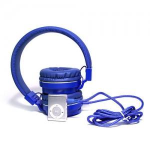 Polaroid MP3 and Headphone Combo - Blue