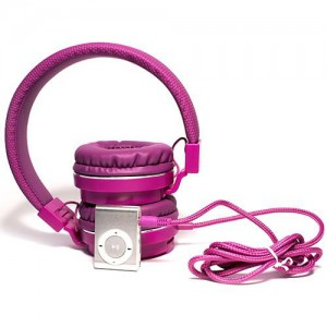 Polaroid MP3 and Headphone Combo - Purple