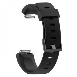 Tuff-Luv A6_85 Silicone Strap for Fitbit Inspire / Inspire HR - SMALL  - Black