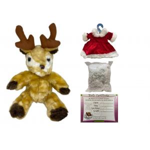 Build-a-Bear - Candy Cane Reindeer