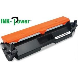 Inkpower Generic for HP CF217A HP 17A Black Toner Cartridge