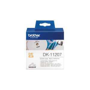 Brother DK 11207 CD/DVD Film Label