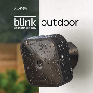All-new Blink Outdoor Wireless Weather-Resistant HD Security Camera with 2 Year Battery Life and Motion Detection – 3 Camera Kit