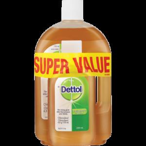 Dettol Antiseptic Liquid Combo 1lt + 250ml