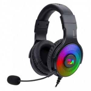 Redragon Pandora USB+3.5mm Aux | Vitrual 7.1 | RGB | In-Line Controller Gaming Headset - Black