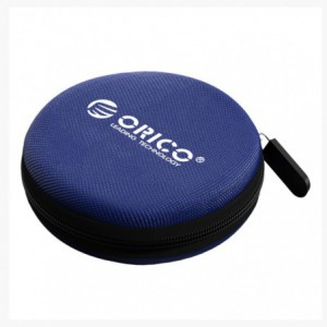 Orico Headset/Cable EVA Round Case - Blue