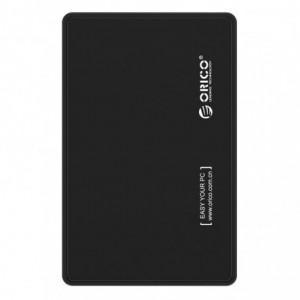 "Orico 2.5"" USB 2.0 External HDD Enclosure - Black"