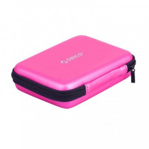 Orico 2.5 Portable Hard Drive Carrying Case - Pink