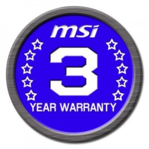 MSI Gaming Series Warranty Extension to 3 Years