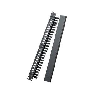 Ugreen 24port Ethernet Cable Management Rack - Black